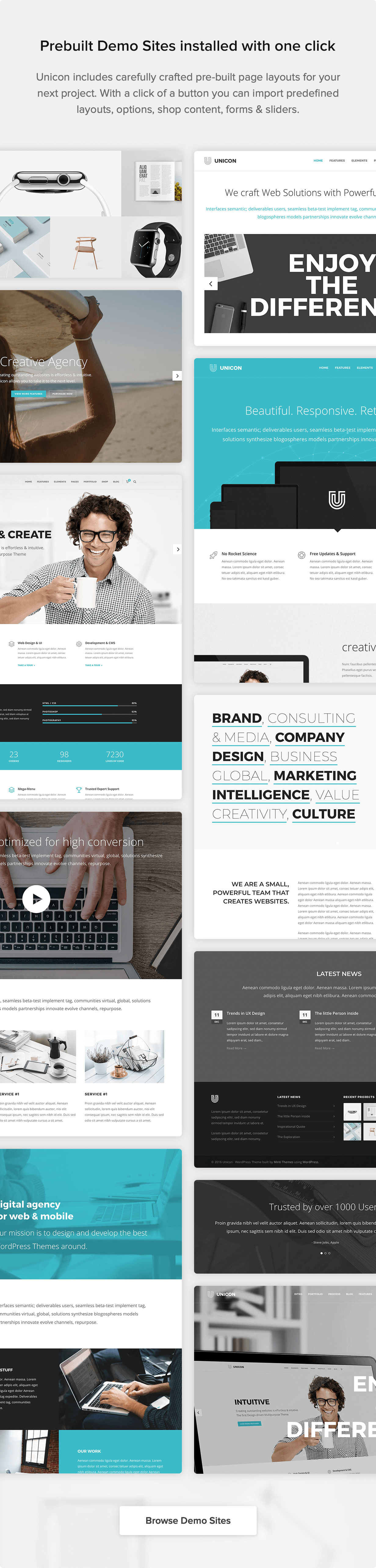 Unicon | Design-Driven Multipurpose Theme - 7
