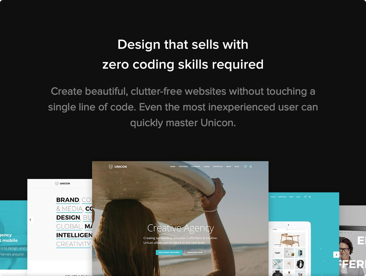 Unicon | Design-Driven Multipurpose Theme - 6
