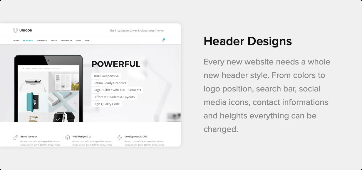 Unicon | Design-Driven Multipurpose Theme - 30