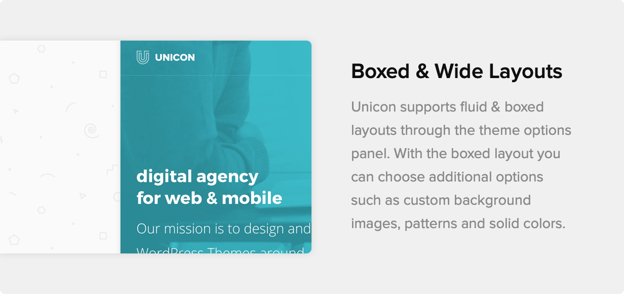 Unicon | Design-Driven Multipurpose Theme - 14