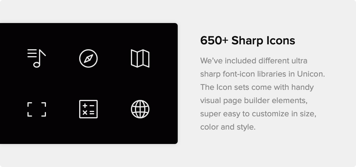 Unicon | Design-Driven Multipurpose Theme - 16