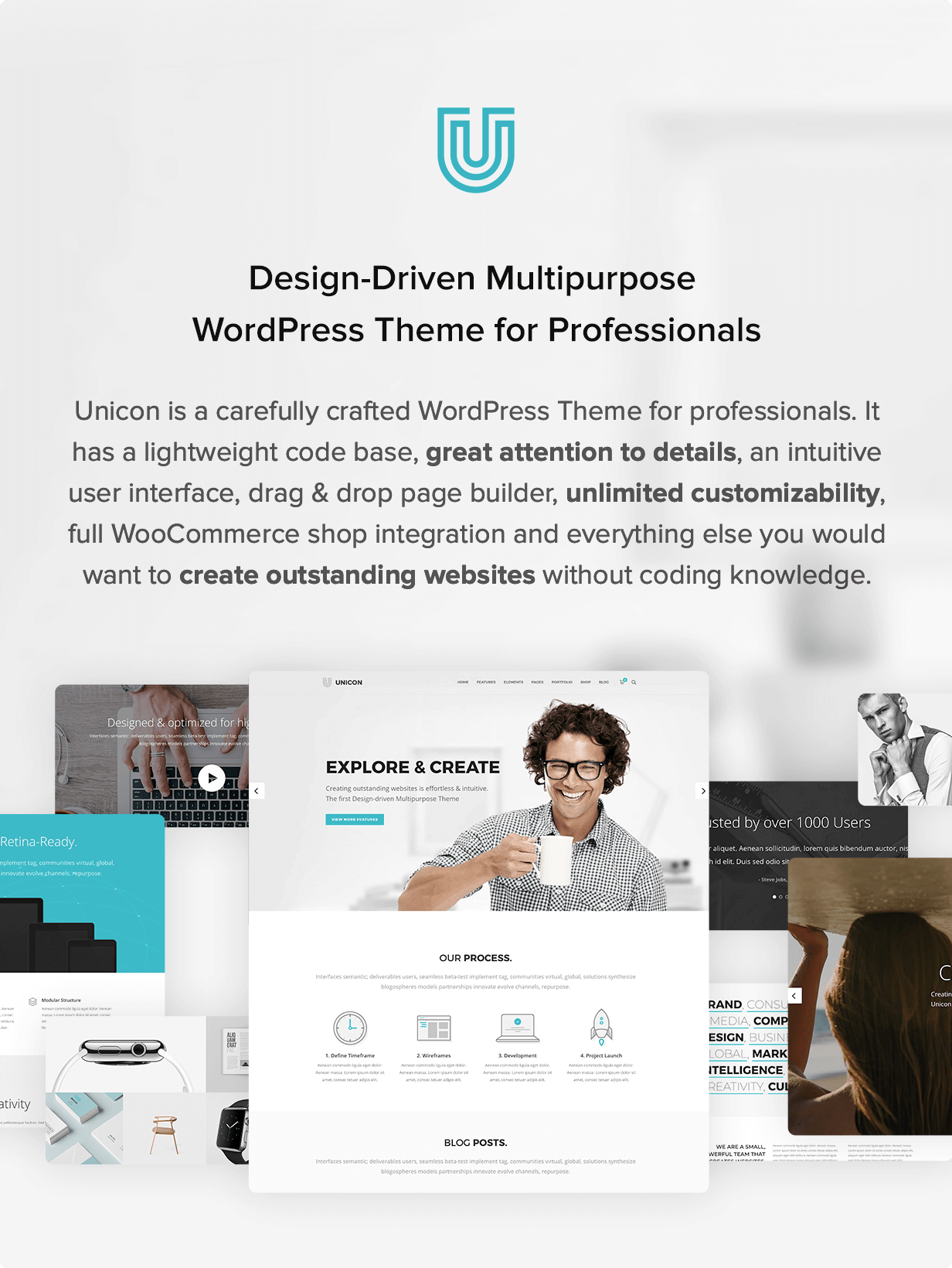 Unicon | Design-Driven Multipurpose Theme - 1