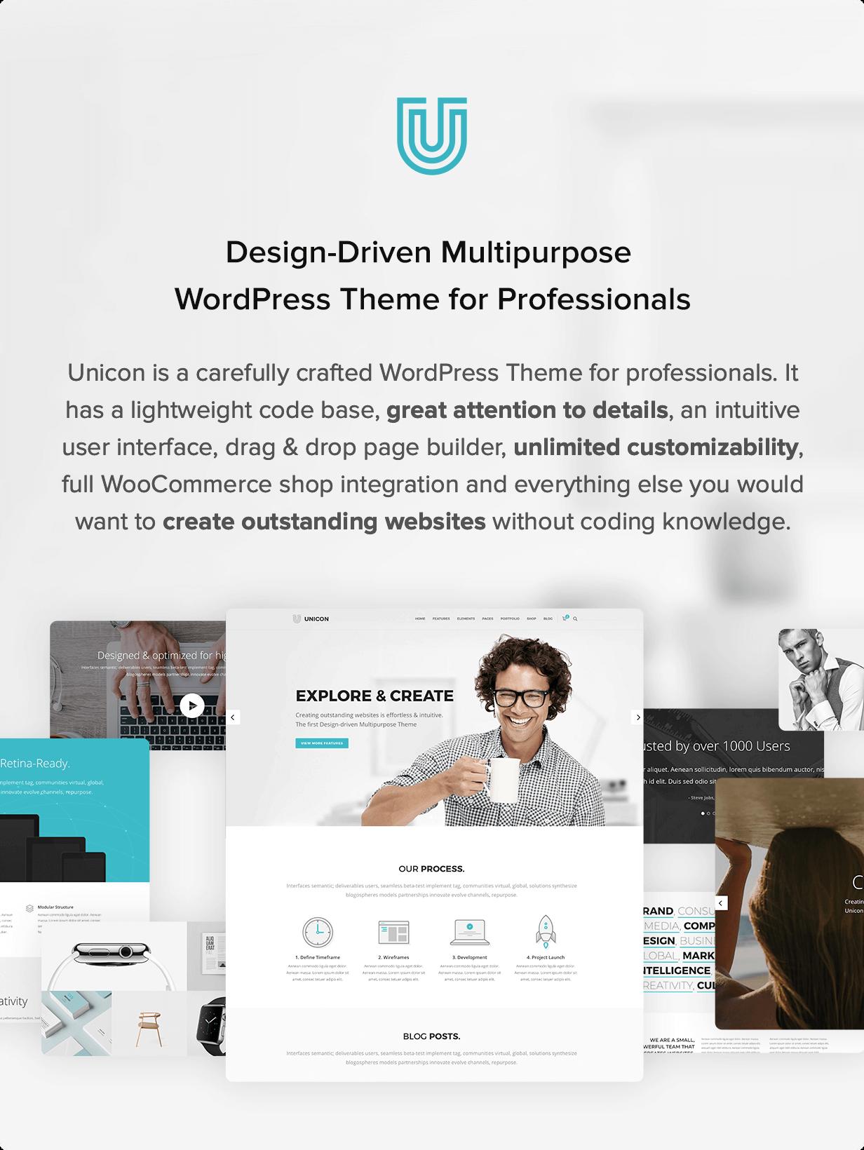 Unicon | Design-Driven Multipurpose Theme - 1