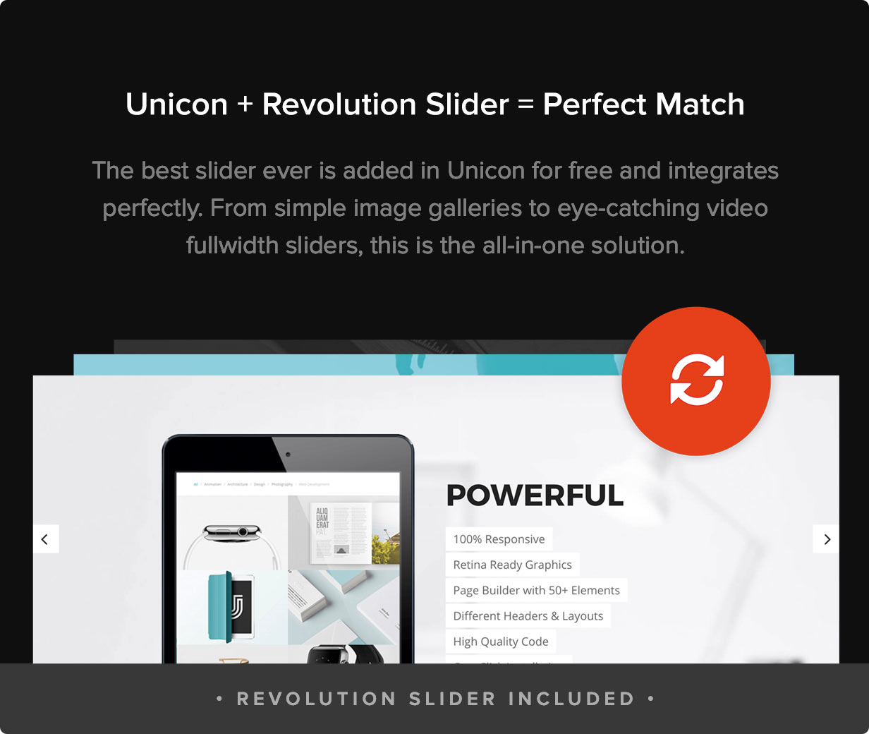 Unicon | Design-Driven Multipurpose Theme - 4