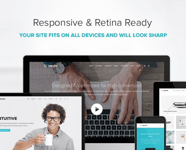 Unicon | Design-Driven Multipurpose Theme - 9